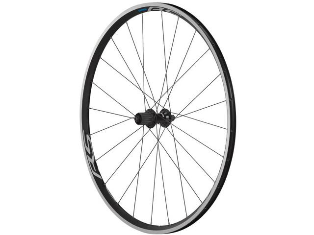 Shimano Road WH-RS100-CL Wheel Rear QR 163mm 130mm rim brake black